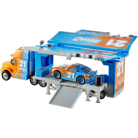 Disney/Pixar Cars Speedy Comet's Hauler Die-Cast Character Vehicle (Disney Cars Toys Mack Hauler)
