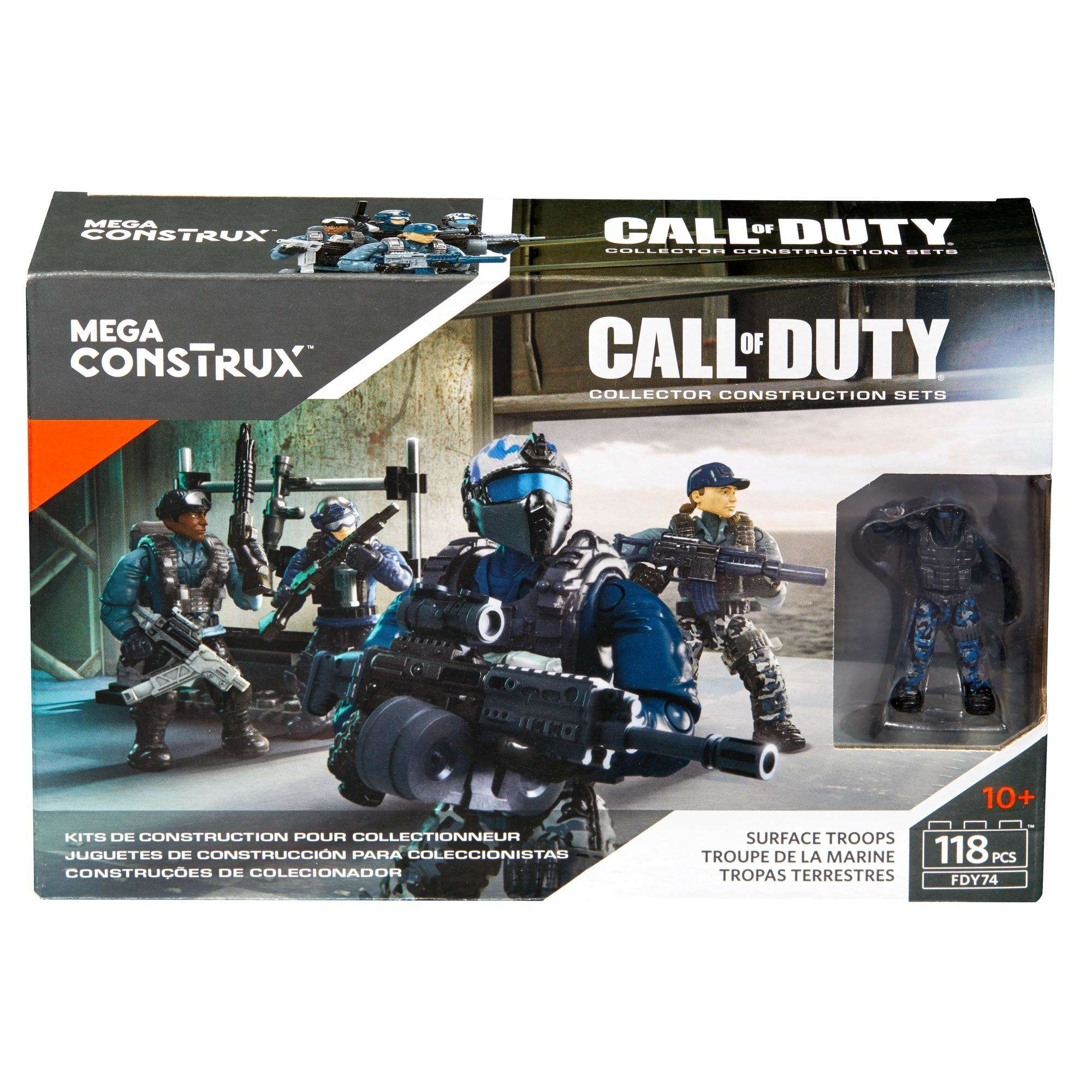 Mega Construx Call Of Duty Surface Troops Walmart Com