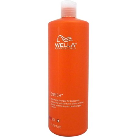 Enriched Moisturizing Shampoo, For Coarse Hair By Wella, 33.8
