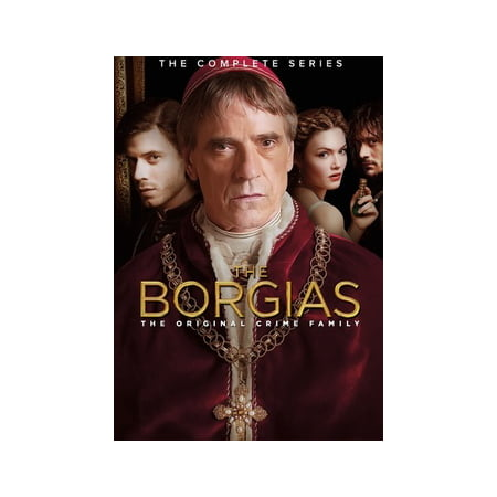 - The Borgias: The Complete Series Pack (DVD)