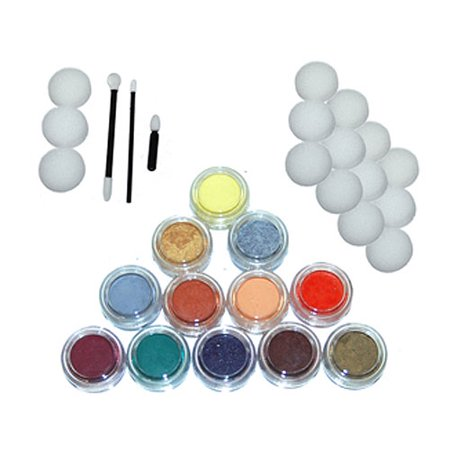 12 - 10ml SECONDARY COLORS FACE PAINTING KIT Paint Set