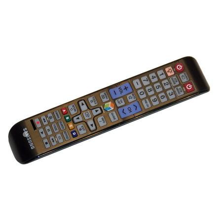 OEM Samsung Remote Control: UN46ES7100F, UN50ES6900F, UN55ES6820F, UN55ES6900F