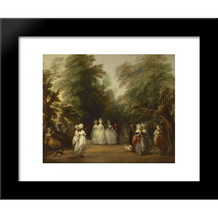 The Mall in St. James's Park 20x24 Framed Art Print by Thomas (St Louis Outlet Mall Stores)