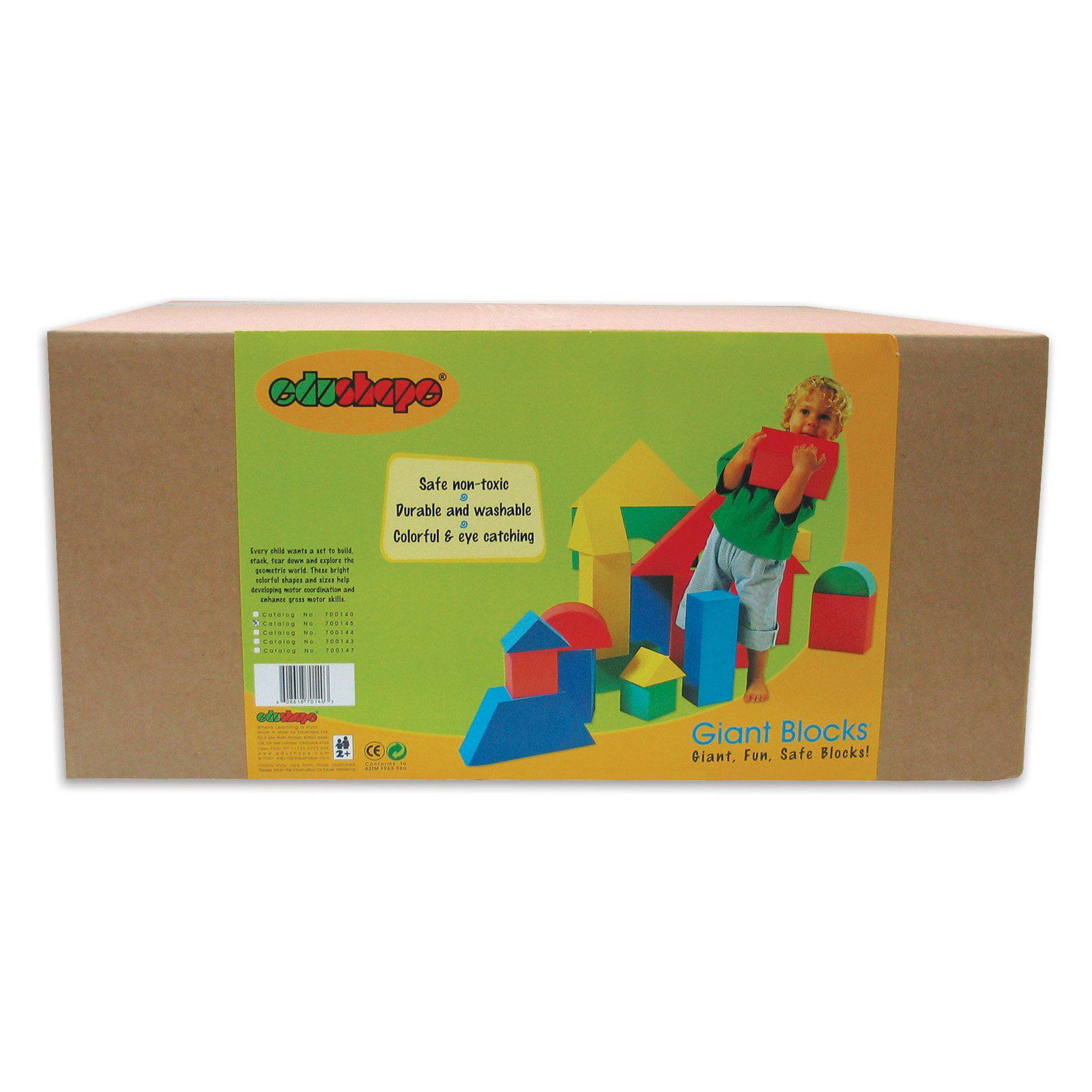 Juguete Para Bebe Edushape Giant Block Set + juguetes para bebes en VeoyCompro.net
