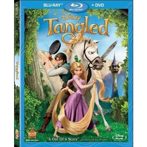 Tangled (Blu-ray   DVD) (Widescreen)