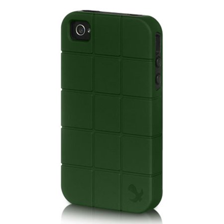 Insten Platinum Collection Fusion Series Turtle Shell Hybrid Case For Apple iPhone 4 / 4S - Brown/Black ()