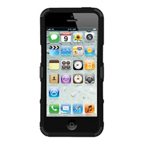 Seidio Heavy Duty Drop Proof Case Cover w/ Stand for Apple iPhone 5/5s/SE - Black