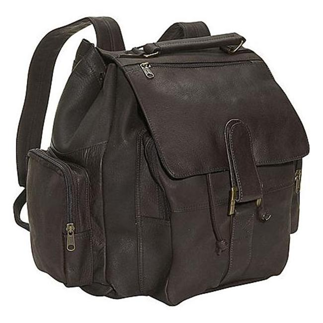 David King & Co 323C Top Handle Backpack- Cafe