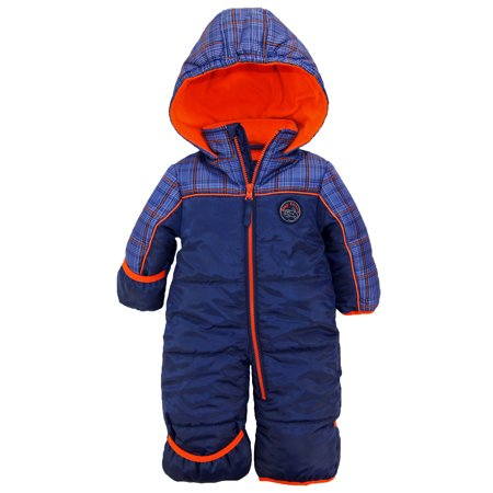 4b1cbd0a1 iXtreme Baby Boys Expedition Puffer Winter Snowsuit Pram Bunting ...