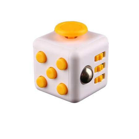 Yipa Fidget Cube Decompression Anti Anxiety Reduce Pressure Dice Creative Toy Gift