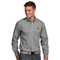 UCF Knights Antigua Associate Woven Long Sleeve Button-Down Shirt - Black