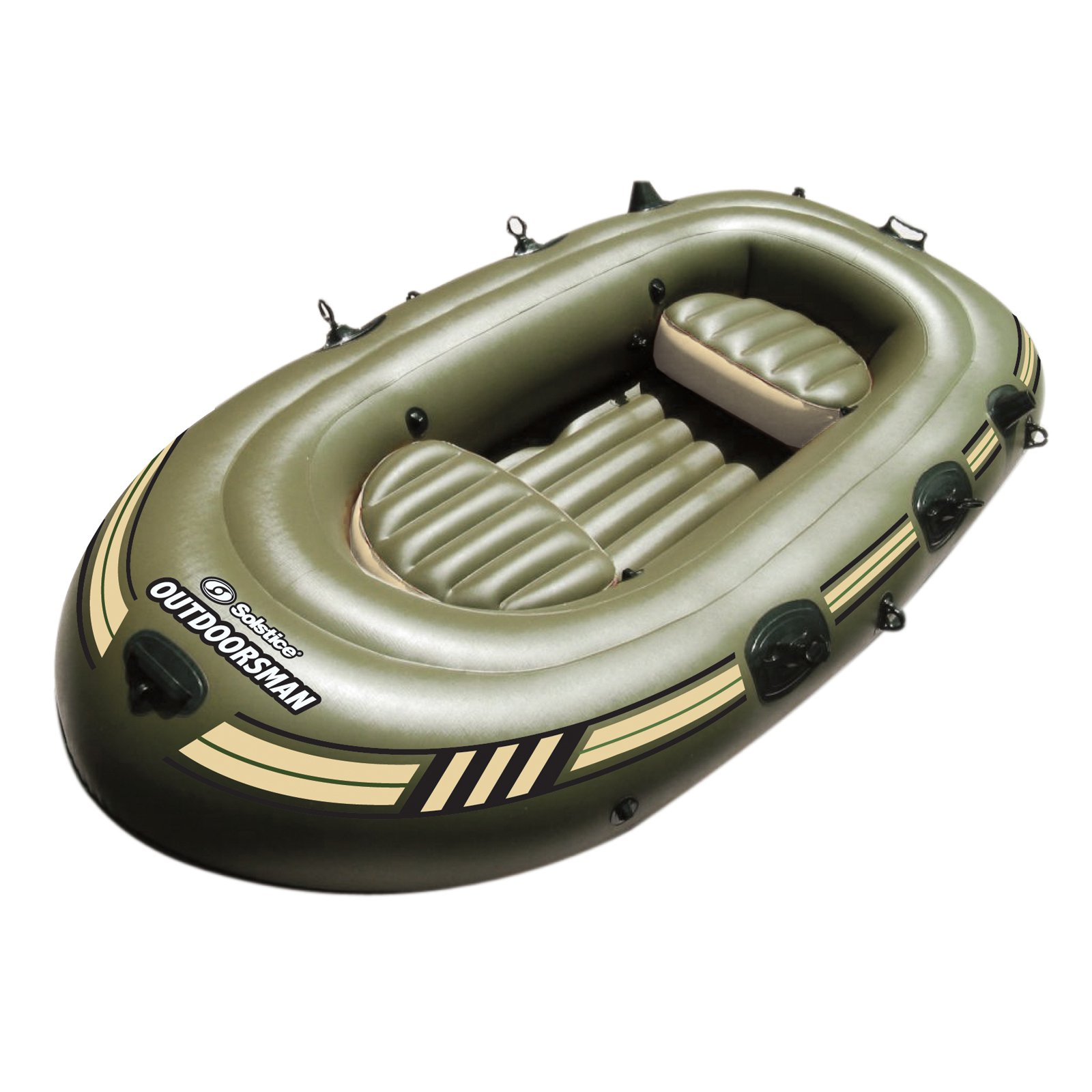 Solstice Outdoorsman 4-Person Inflatable Fishing Boat