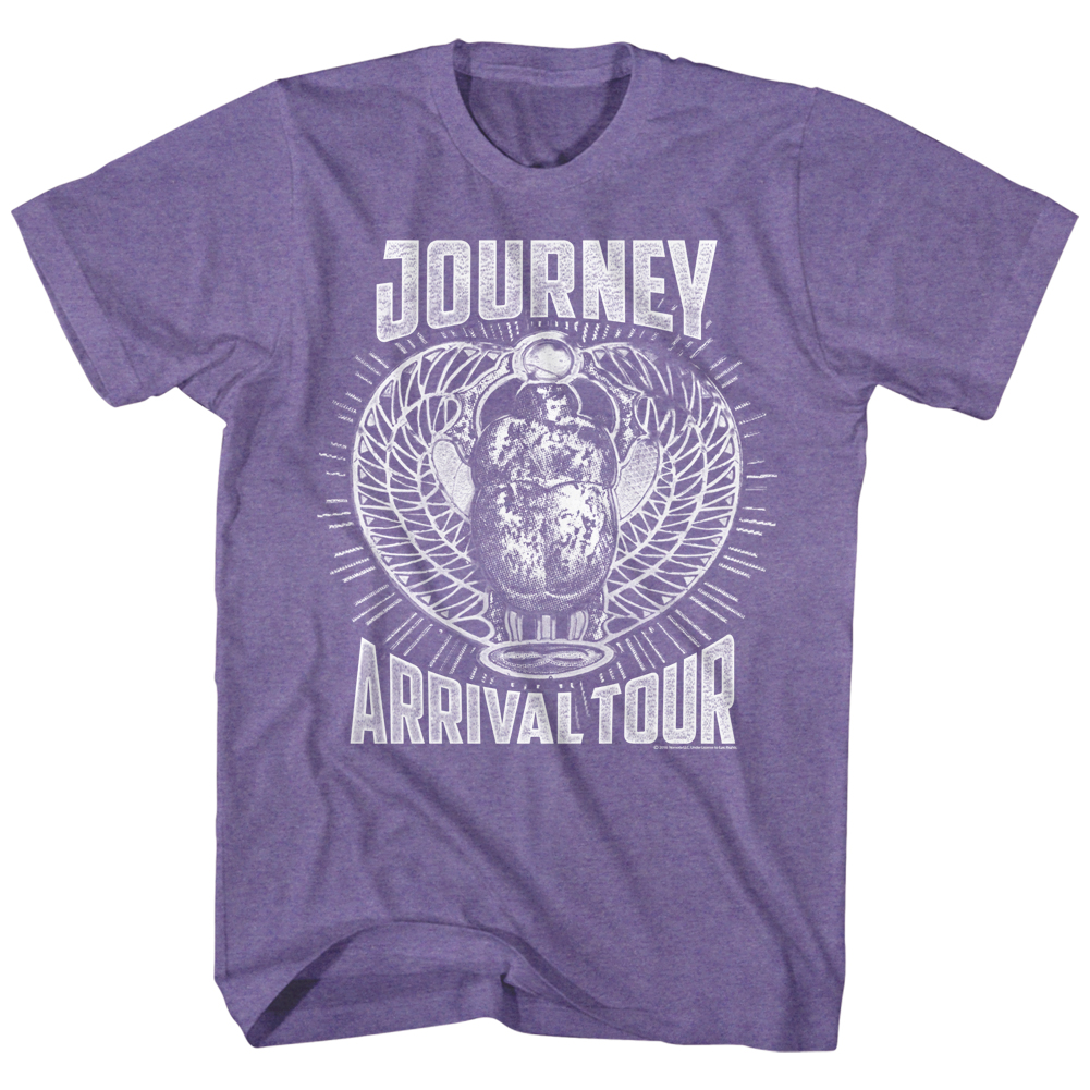 Journey Rock Band Music Group Monochrome Arrival Tour Adult T-Shirt Tee