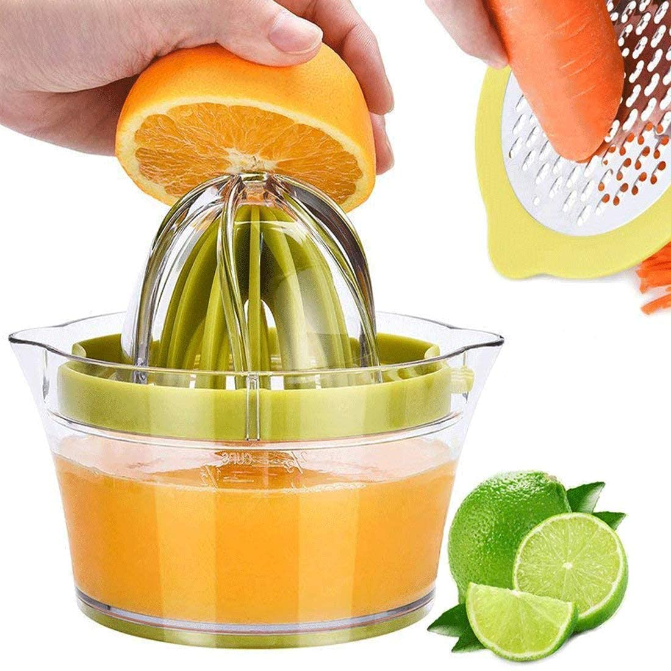 Hand Manual Press Lemon Squeezer Juicer Fruit Citrus Orange Juice ...