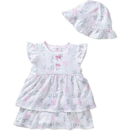 2da16c1b4 Newborn Baby Girl Dress   Sunhat