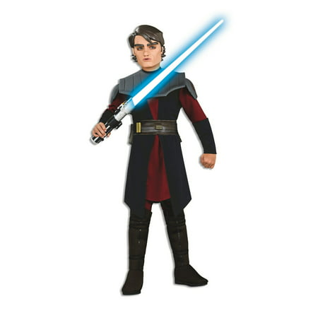 Star Wars Boys Dlx Anakin Skywalker Halloween Costume - Anakin Skywalker Kids Costume