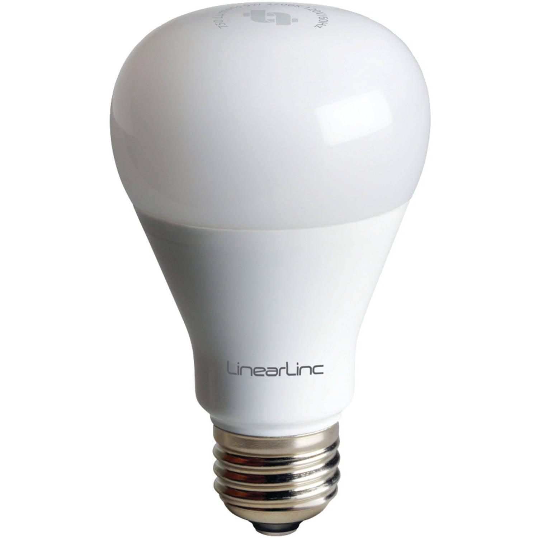 LinearLinc LB60Z-1 BulbZ Z-Wave Dimmable LED Light Bulb - Walmart.com:,Lighting