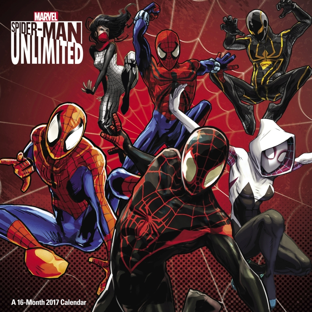 Spiderman Unlimited Wall Calendar