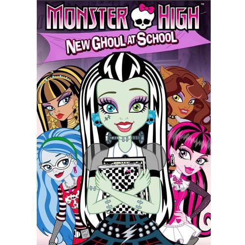 Monster High: New Ghoul At School (Walmart Exclusive) (Anamorphic Widescreen, WALMART EXCLUSIVE)