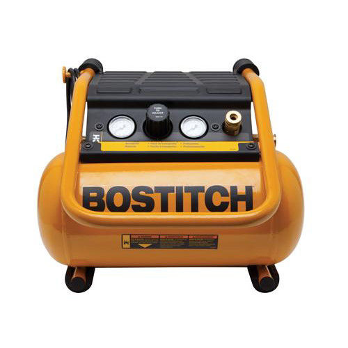 BOSTITCH 2.5 Gallon 150 PSI Oil-Free Suitcase Style Air Compressor | BTFP01012