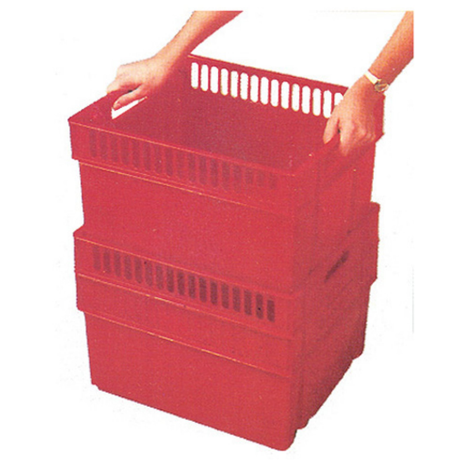 Dial Industries B814OSH ASST All Purpose Jr Storage Crate Assorted Colors