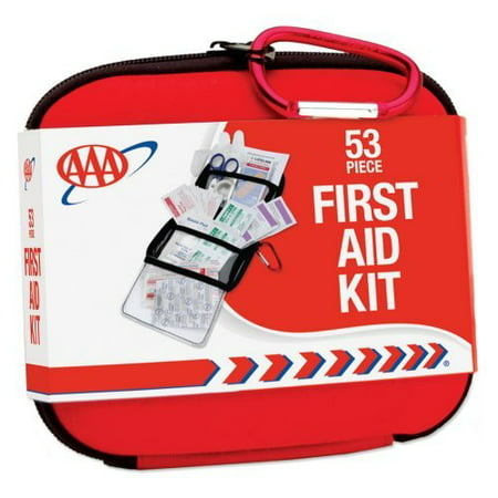 Image of AAA Hard-shell Travel First Aid Kit - 53 Piece