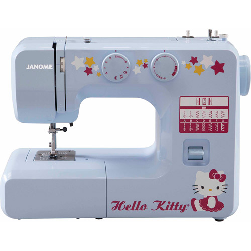 Janome 12-Stitch Hello Kitty Sewing Machine, 15312