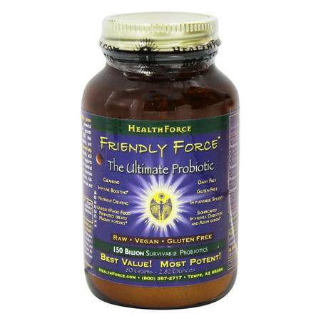 HealthForce Nutritionals - Friendly Force The Ultimate probiotique en poudre - 80 grammes