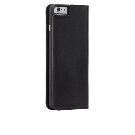 premium selection e14f9 0ae15 Case-Mate Wallet Folio Case for Apple iPhone 6 Plus/6s Plus - Black