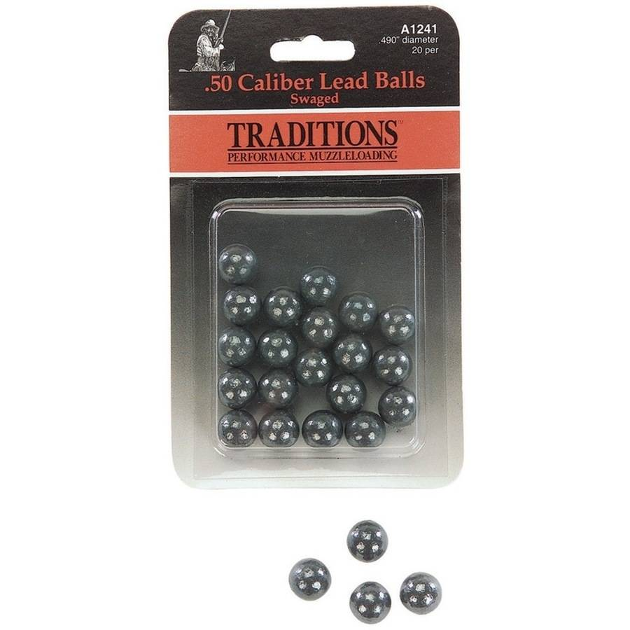 Traditions Swaged Round Lead Balls