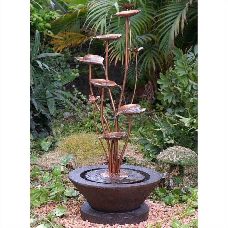 Jeco Acqua Di Loto Lotus Outdoor Fountain