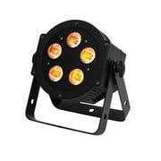 American DJ 6 In 1 RGBAW + UV LED Lighting DMX Slim Par Light Fixture | 5P-HEX