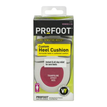 Profoot Custom Heel Cushion Womens 6 - 10 - 1 PR, 1.0