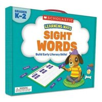 Scholastic Learning Kit, Sight Word Games, 120 Cards, Ages 5 & Up