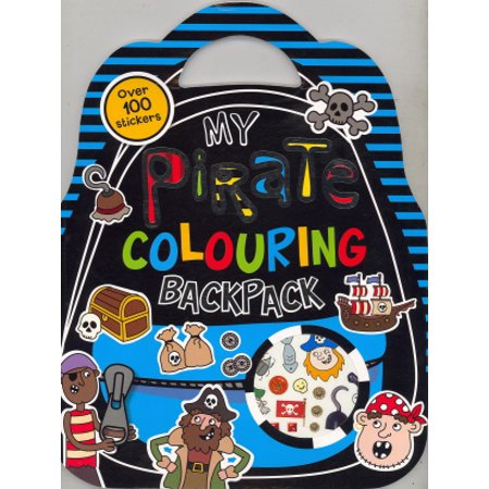 My Pirate Colouring Backpack - Coloring Backpack