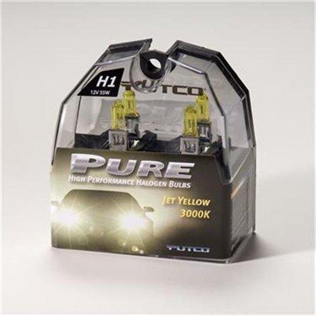 Putco 230100jy H1 Halogen Head Light Bulb Jet Yellow