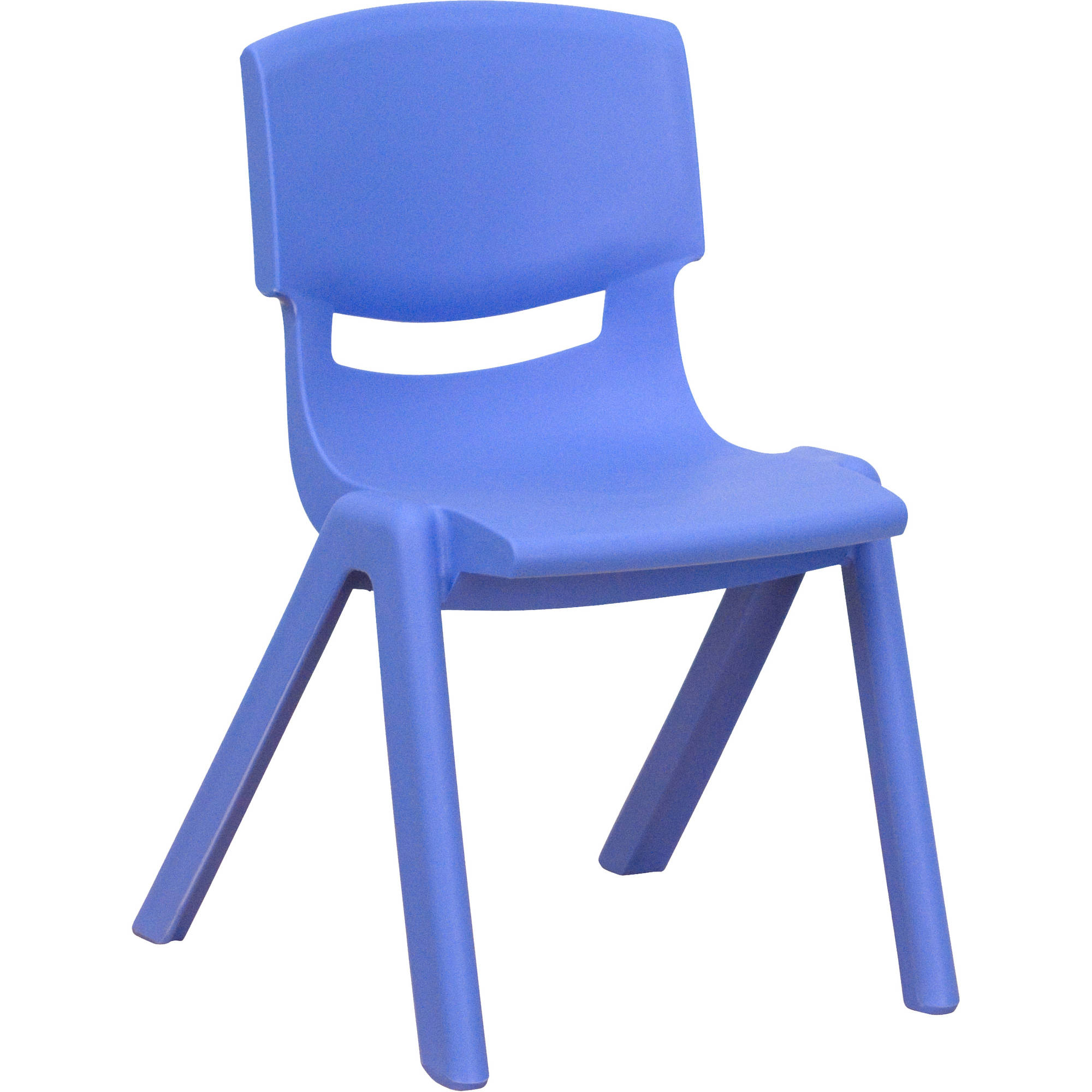 Flash Furniture Plastic Stackable School Chairs, 12'' Seat Height, set of 4, Multiple Colors