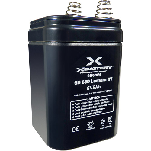 Schumacher Electric Lantern ST 6V 5AH Battery