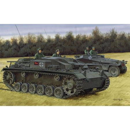 Dragon 6688 WWII German StuG. III Ausf.E 1/35 Scale Plastic Model Kit ()