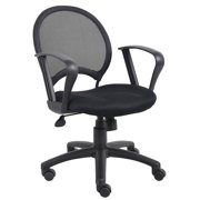 Mesh Back Desk Chair In Black