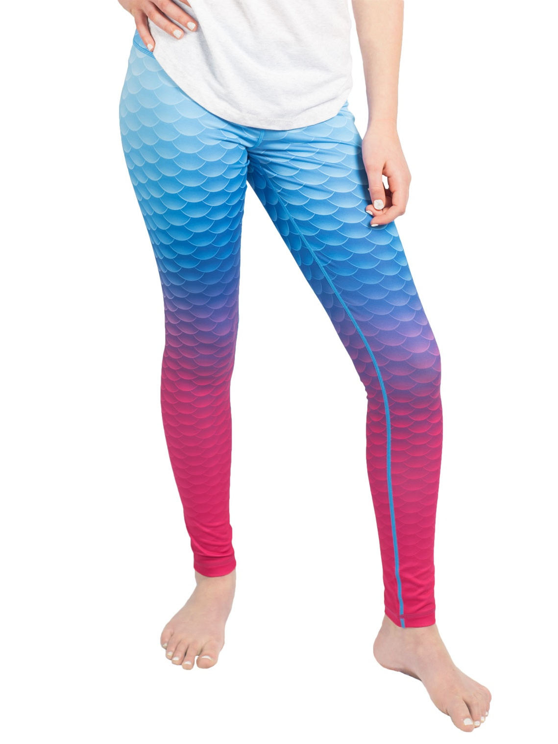 pretty cheap factory outlet ever popular Fin Fun - Womens Mermaid Leggings - By Fin Fun, Great for Yoga ...
