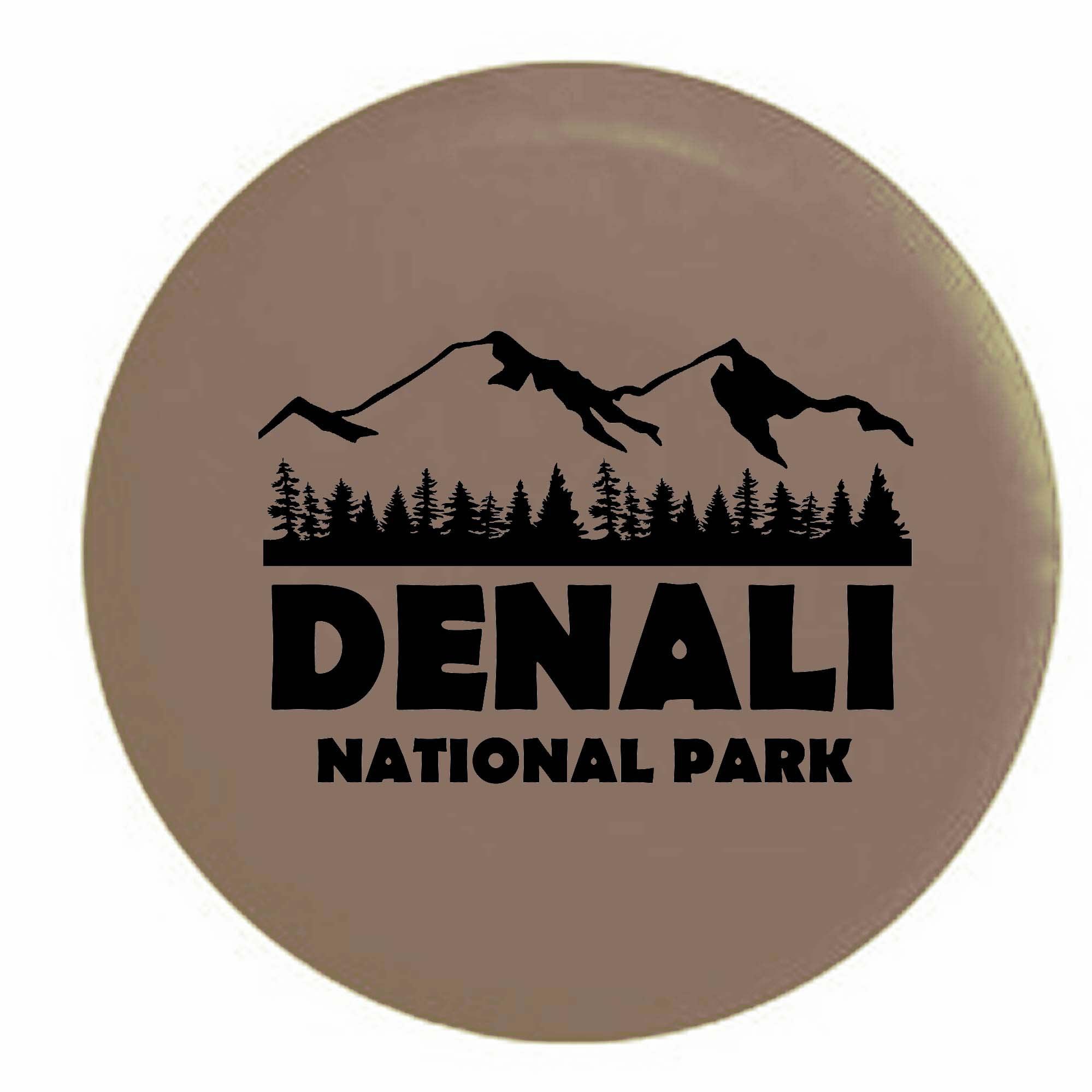 The Game Denali National Park Alaska Trailer RV Spare Tir...