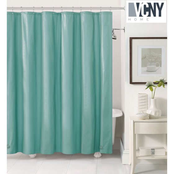 Peva Plastic Shower Curtain Liners With Magnets By Victoria Classics ...