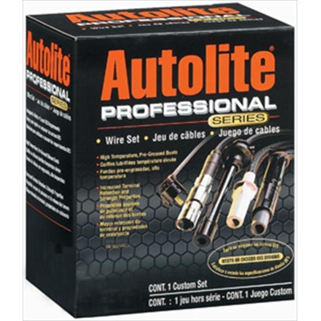 AUTOLITEWIRE 96187 Professional Series Spark Plug Wire Set, 6 Cylinder by AUTOLITEWIRE