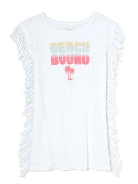 2fc1224b17 Product Image Beach Bound Fringe Swim Coverup (Little Girls & Big Girls)