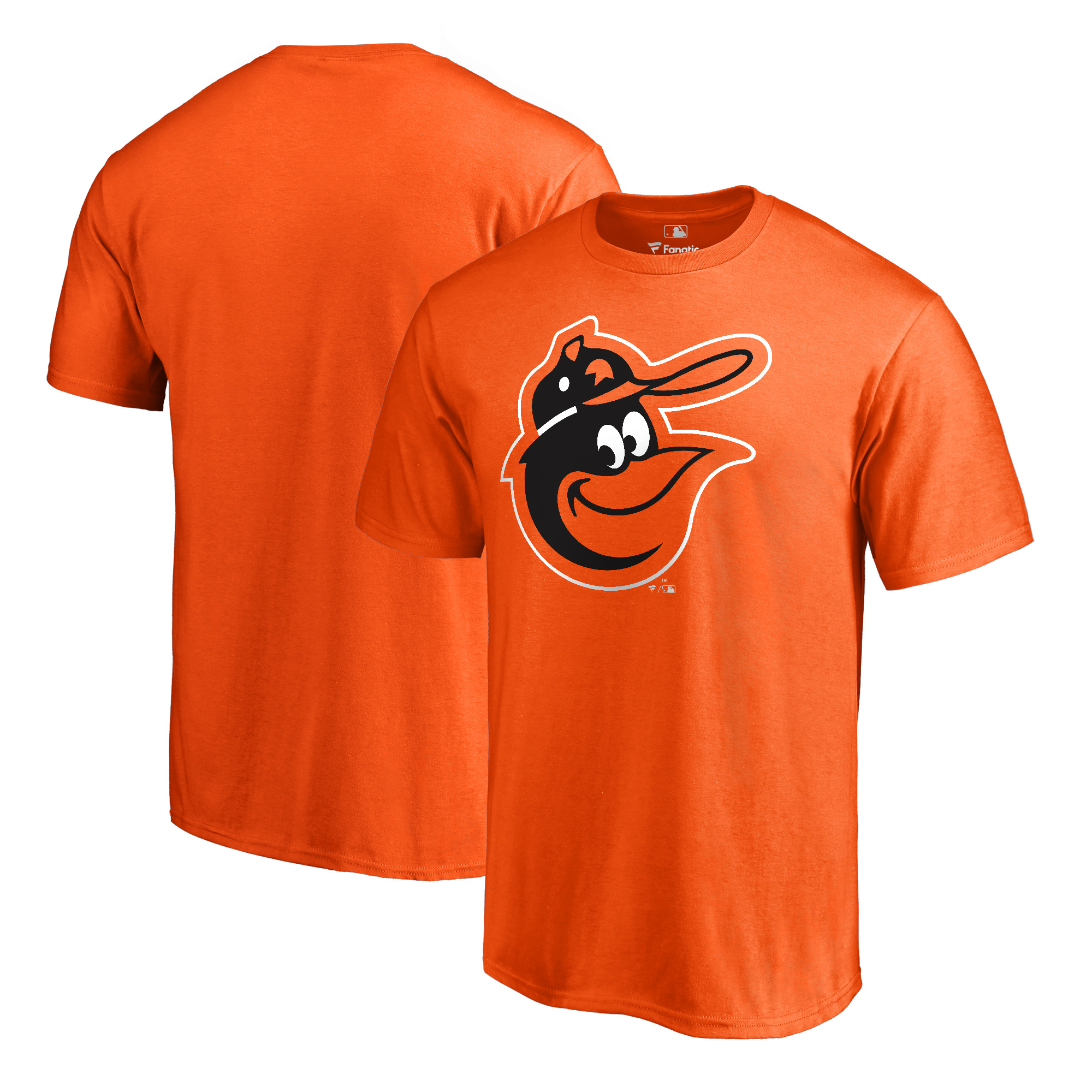 Baltimore Orioles Fanatics Branded Cooperstown Collection Huntington T-Shirt - Orange