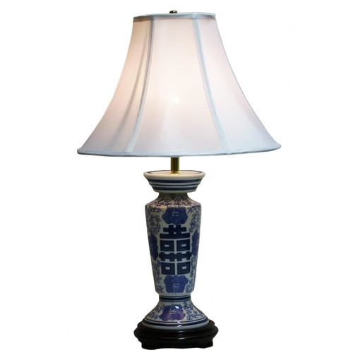 Lamp Factory Symbol Column 24 H Table Lamp With Bell
