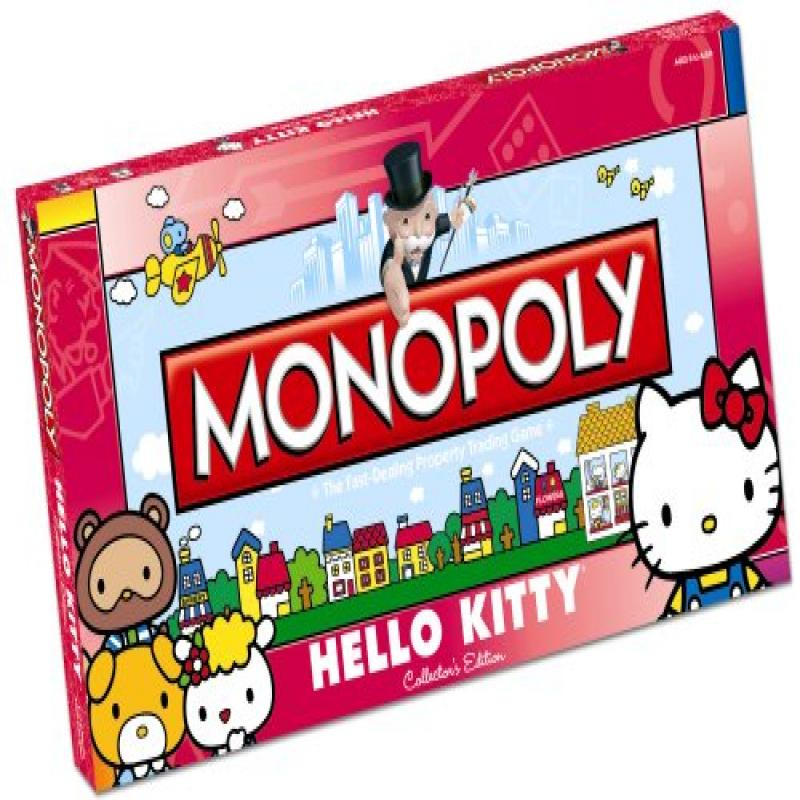 Monopoly Hello Kitty Collectors Edition by USAopoly