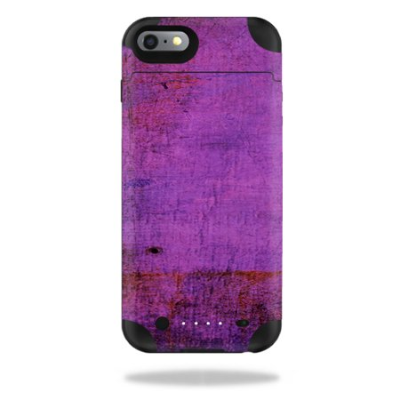 Mightyskins Protective Vinyl Skin Decal For Mophie Juice Pack Iphone 6 Plus Wrap Cover Sticker Skins Purple Sky