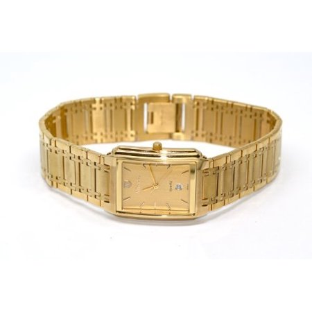 SWISS WATCH GOLD STAINLESS STEEL HIGH QUALITY WATER RESISTANT